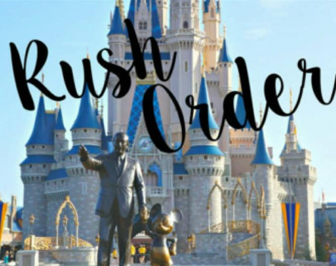 Rush processing for ONE minnie ears