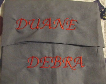 Personalized King Size Pillowcases