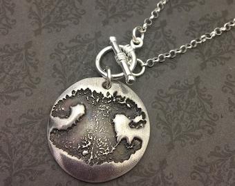 Hund Nase Impressum Halskette - Hund Nase Druck - Paw Print Schmuck - Pfoten Druck Eindruck Halskette - In Erinnerung an - Pet Verlust Halskette