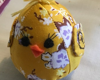 Fabric Easter Chicks