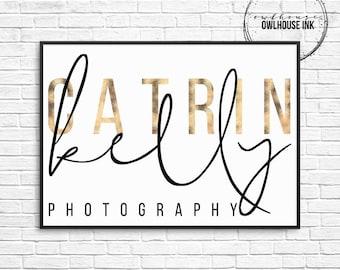 Premade Logo Design / Minimalist Logo/ Photographer Logo / Signature Logo / Photography Logo / Business Logo / Watermark/ 135
