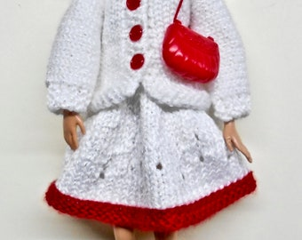 Barbie Coat with Skirt, Purse and Headband