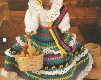 Jamaican Jewel, Crochet Pattern, Doll Dress, Doll Clothes, Gift Idea, Annies Fashion Doll, Vintage 1996 , FCC11-03, Sewing Pattern,Supplies