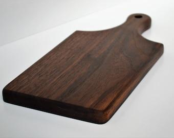 Small cutting board, walnut cutting board, cheese board, cheese board personalized, wood cutting board, kitchen cutting board