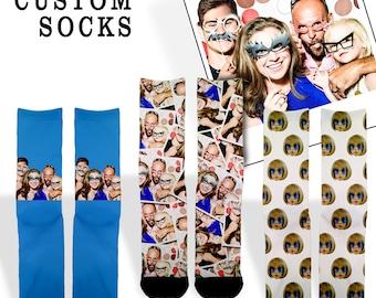Custom Face Socks   1 DAY SALE   customized socks   Personalized socks   Custom Photo Socks   Custom Socks   Picture Socks   Birthday Gift