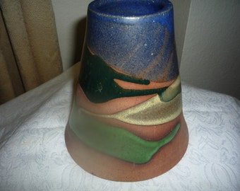 Southwest Cone-Shaped Vase