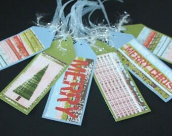 Set of 6 Christmas Tags