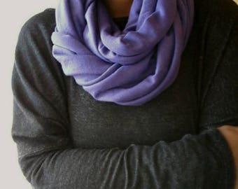 Women's Convertible Scarf - Infinity Scarf- Loop Scarf-Ultra Violet Purple