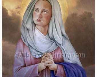 St Lydia Purpuraria Fine Art Print Catholic Patron Saint of Dyers #4126