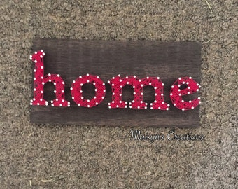 Home String Art Sign | MADE TO ORDER