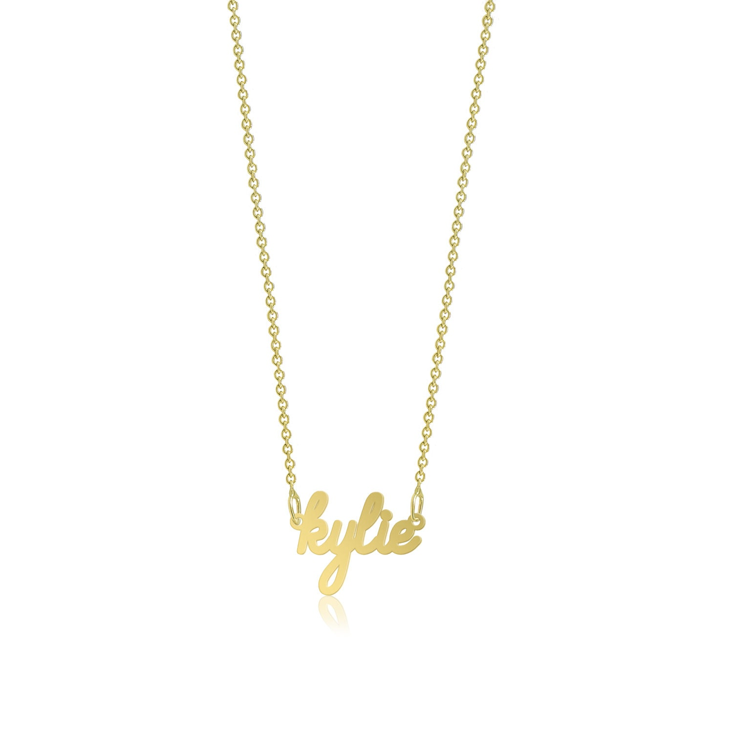initial fullxfull pendant a yellow necklace charm z listing il alphabet any gold letter custom solid