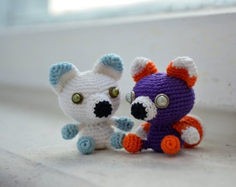 Little Fox. Amigurumi