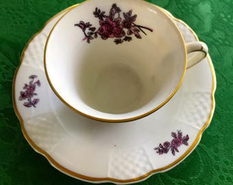 Perfect Portugese expresso cup and saucer set