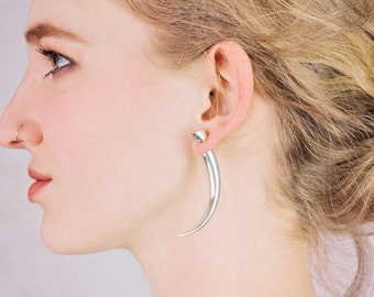 Fake Gauge Earrings Etsy
