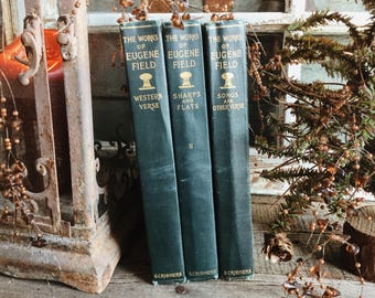 Old Books - 1901-1903 The Works of Eugene Field FREE SHIPPING