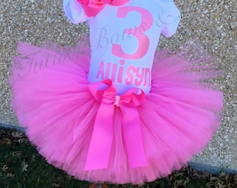 Taffy Pink Tutu Set