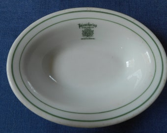 Poland Spring House Hotel * Dining Room Dish * Butter Pat Dish * 1930's * RARE