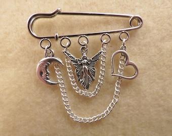 Shakespeare Midsummer Night's Dream kilt pin brooch (50 mm)