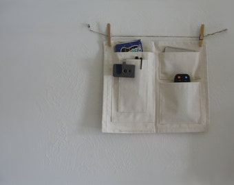Wall Pocket Organizer - Canvas Space Saver