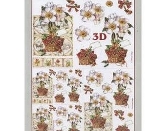 Book 96 3D Christmas II pattern sheets
