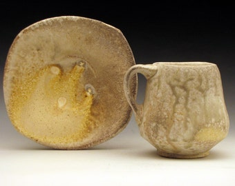 Drippy Ash Cup and Saucer