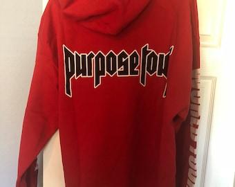 Purpose Tour ALL ACCESS LIMITED Hoodie