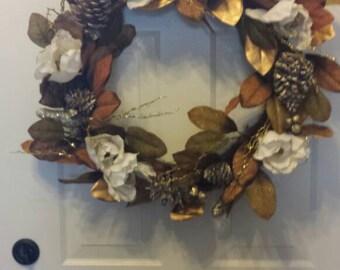 Christmas wreath / holiday wreath / front door wreath / holiday wreath
