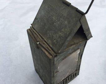 Rare 1908 Stonebridge Folding Lantern PAT'D 1906-1908 Made in USA