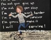 Mini Canvas: Survivor...