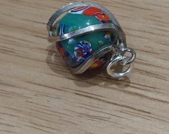 Vintage murano glass charm or pendant