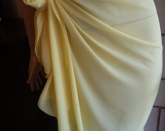 Sarong cover up-yellow sarong-yellow sarong cover up -beach sarong -long sarong-short pareo-chiffon bathing suits-beach cover up