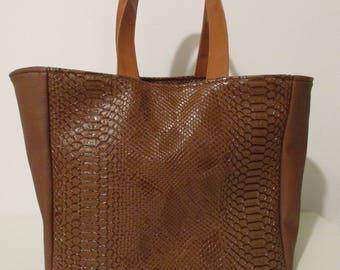 bag Brown faux