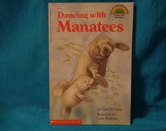 vintage 1994 Dancing with Manatees book by Faith McNulty