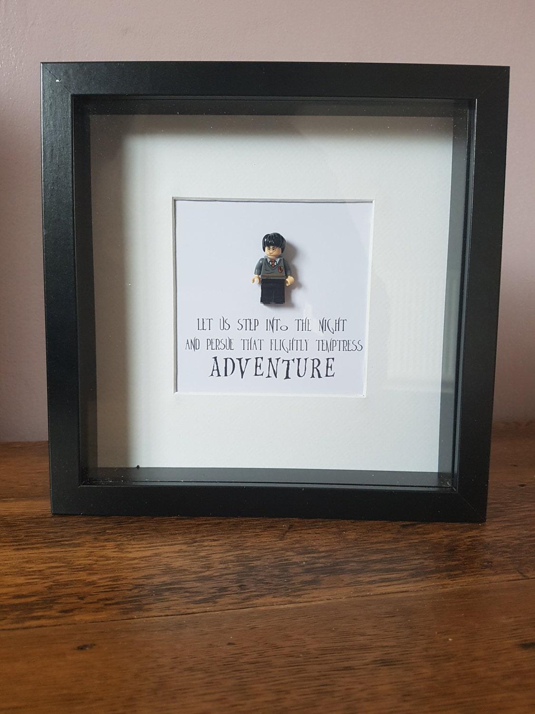 Shadow Box Frame//Harry Potter//Minifigure//Ronald Weasley ...