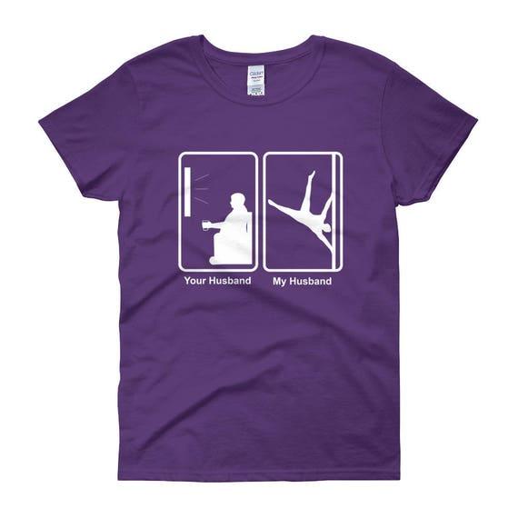 Women's short sleeve t-shirt, Women's short sleeve t-shirt - pole dancing tshirt - pole - pole fitness - men poledancer - male poledancer ts