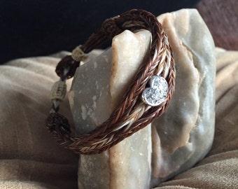 Custom Braided Horsehair Bracelets