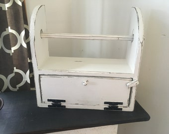 Bread Box with paper towel holder