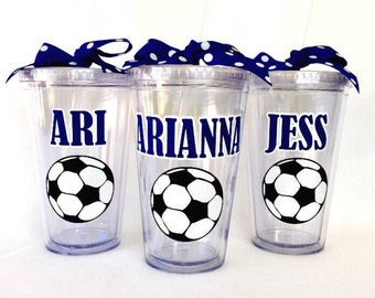 Personalized Soccer Tumbler
