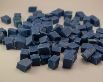 Hand-Cut Mosaic Smalti - 1/2 pound - 100 pieces - 10 mm x 10 mm
