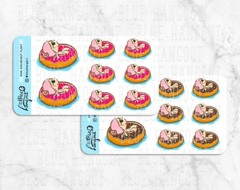BUNS & Doughnut Float | Pink (Strawberry) | Chocolate