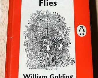 Lord Of The Flies by William Golding (1911-1993)--Faber & Faber 1954--Penguin Book Reprinted 1960--Shipping Included