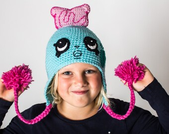 Shopkins Crochet PATTERN: Toasty Pop Hat