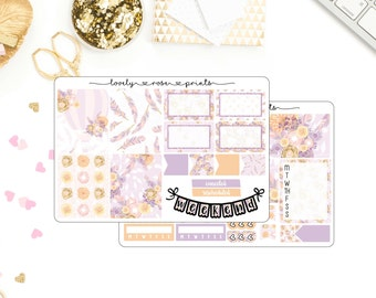 Lilac Flowers Mini Kit