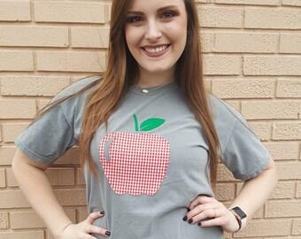 Teacher Apple T-shirt
