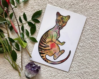 Art Print - Third Eye Thylacine - A4 archival quality paper
