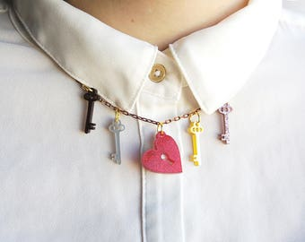 Polyamory Necklace / Love Talismans Collection.