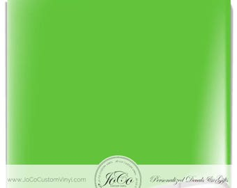 ORACAL® 651 Vinyl Sheets - 063 Lime Tree Green - Gloss Finish