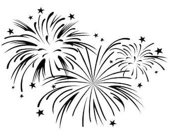 Fireworks Embossing Folder