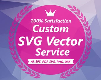 Photo Tracing, Image Tracing, Logo Tracing, Custom Vector Illustration, Convert Logo to Vector, SVG Silhouette, Custom Vector Portrait