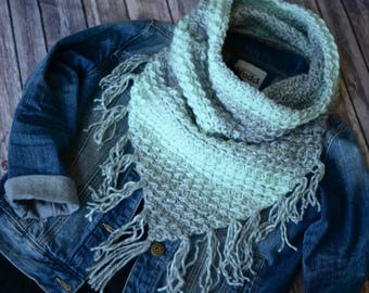 Crochet Pattern: Scarfie Bandana Cowl **Permission to Sell Finished Items INSTANT DOWNLOAD